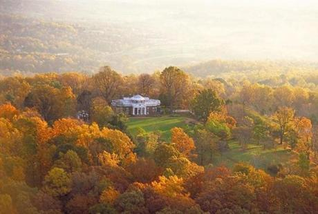 He started building Monticello in 1769.