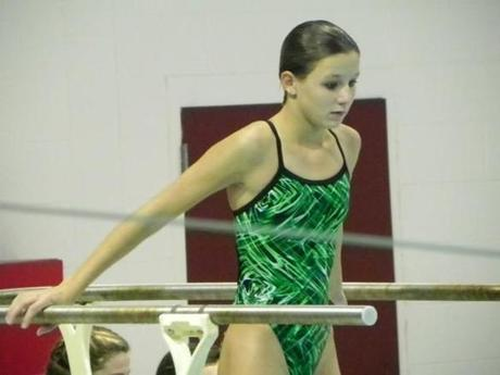 Irina Chiulli, a Globe All-Scholastic, is now a freshman diver at the University of Richmond.