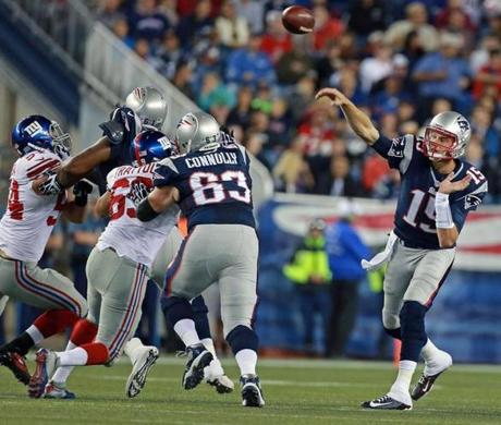 Ryan Mallett was the Patriots' starting quarterback for the preseason finale.