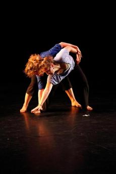 Green Street Dance dancers Sarah Mae Gibbons and Renee Amirault.