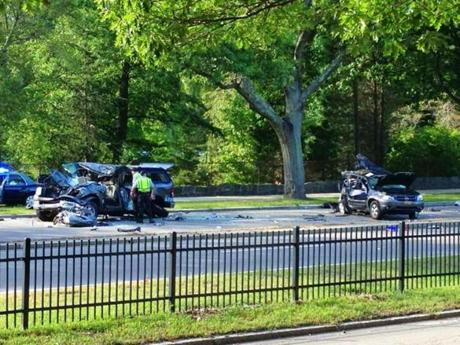 Papadopoulos, or West Roxbury man, faces charges in the crash.