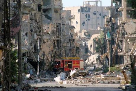 More than 100.000 people have died in the civil war in Syria, with the vast majority being killed by bombs, bullets, and other conventional weapons.