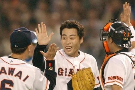 Koji Uehara pitched 10 seasons in Japan before coming to the United States in 2009.
