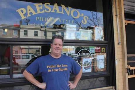 Chef and owner of Paesano's Peter McAndrews.