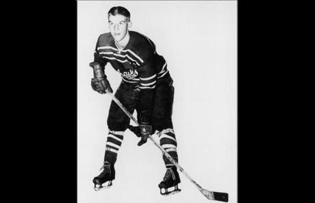 Orr in the mid-1960s, at 14, when he became Bruins property and commuted 300 miles round-trip to play for Boston's junior team, the Oshawa Generals.
