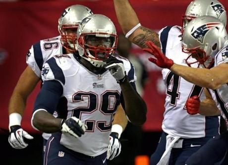 Blount ran 47 yards for a touchdown early in the fourth quarter.