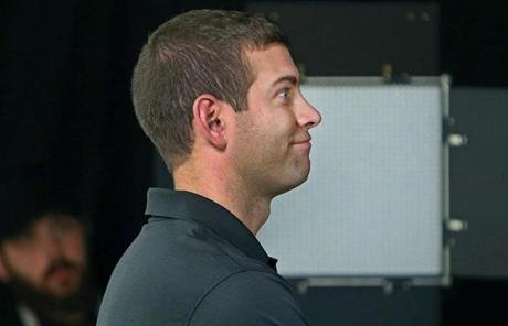 Head coach Brad Stevens filmed a promotional video during which he was told to try to appear as if he was stressed on the sidelines.