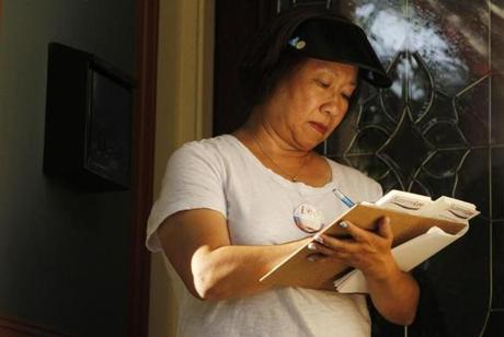 Chinatown activist Suzanne Lee is a former principal who lost the 2011 race by just 97 votes.