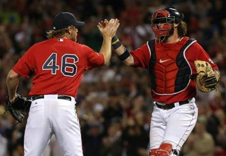 The Red Sox beat the Rays, 12-2, in Game 1 of the ALDS.