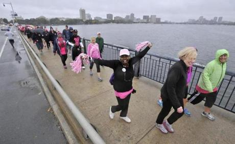 The American Cancer Society held the event in cities nationwide.