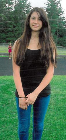 Abigail Hernandez disappeared Wednesday near her high school in Conway, N.H.