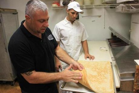 Homemade Philadelphia Tomato Pie-Style Pizza Recipes — Dishmaps