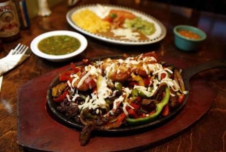 Fajitas Cancun.