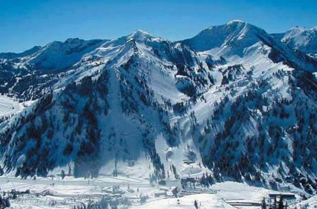 An overview of Alta resort in Utah.