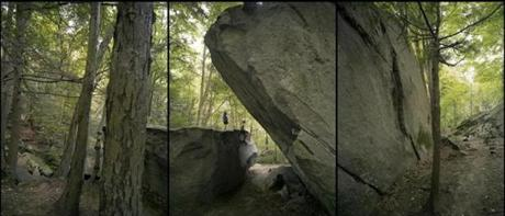 """Young Rock Climbers at Farley Ledges"""
