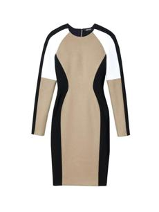 A neoprene dress from DKNY, $595.