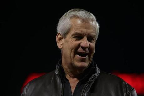 Actor/comedian Lenny Clarke attended Game 2.