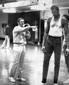 Later, Mr. Sharman coached the Lakers and Wilt Chamberlain.