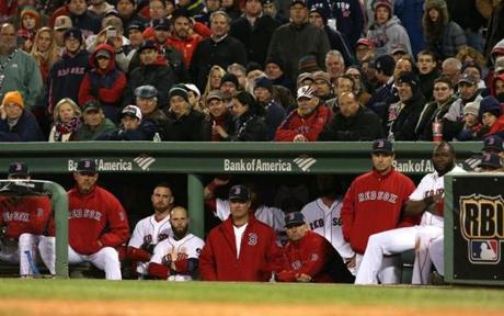 The Red Sox fell to the Cardinals, 4-2, in Game 2. The World Series is now tied.
