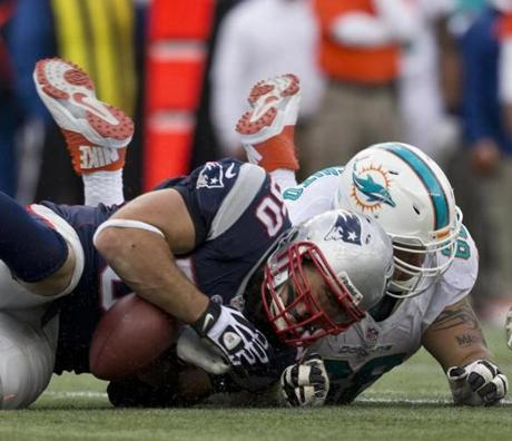 The Patriots' Rob Ninkovich recovered a fumble.