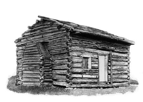 The log cabin in which Abraham Lincoln was born in Kentucky in 1809 provided a good back story for him when he was running for president. By that time, however, he was also a successful urban lawyer.