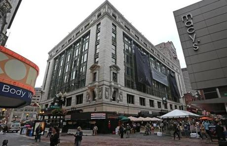 Renewed activity in Downtown Crossing, particularly the revival of the Filene's project, has added to buyers' confidence.
