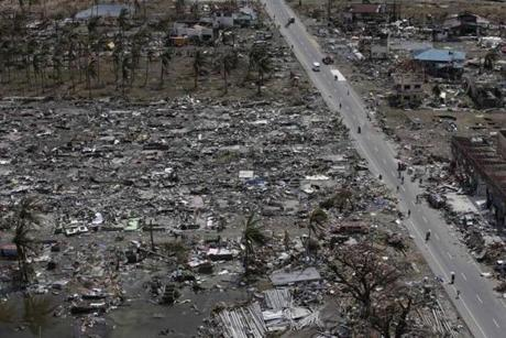 Tacloban was the worst-hit city along the country's remote eastern seaboard.