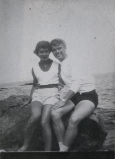 Jim and Evelyn Sullivan in the 1950s.