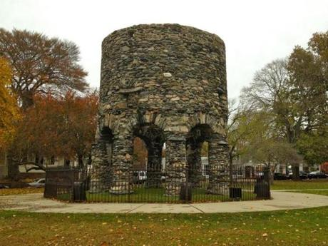 The Vikings are among the suspected builders of the mysterious Stone Tower in Newport, Rhode Island.
