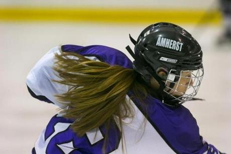 The Providence native says she heard gay slurs when she was playing club hockey at age 9.