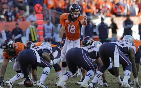 Manning pointed out his protection in the fourth quarter.