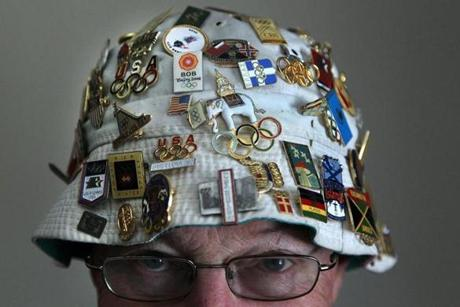Boehm has accumulated some 5,000 pins and other Olympic memorabilia over the past 40 years.