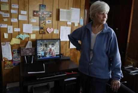 Sister Nancy Braceland, who runs Casserly House in Roslindale, has long ministered to the needy.