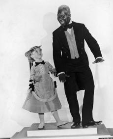 "Shirley Temple and Bill ""Bojangles'' Robinson."