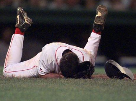 On September 8, 2000, Red Sox relief pitcher Bryce Florie was seriously injured when a line drive smashed into his right eye.