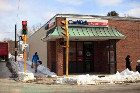 CareWell Urgent Care's Needham walk-in center opened in July.