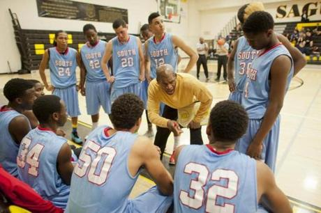Ernie Cobb now coaches the South Mountain High School boys basketball team in Arizona.