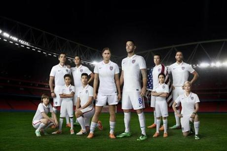 The new US Soccer uniforms.