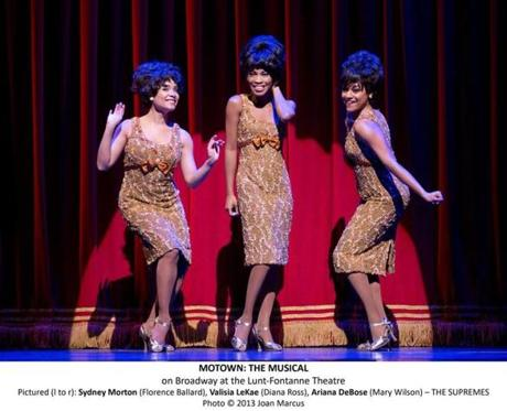 "The cast of ""Motown,"" one of the productions that will visit Boston theaters as part of Broadway in Boston's 2014-15 season."