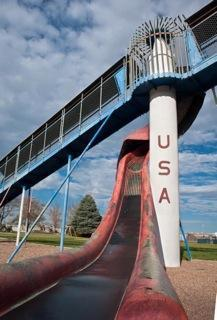 A playground in Burlington, Colo.