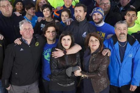 Some affected by the Marathon bombing will be at the race, but others won't.
