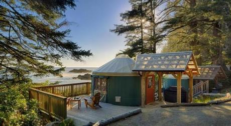 Wya Point Resort has added five lavish lodges to its property in the coastal rain forest at the southern tip of Vancouver Island's west coast.