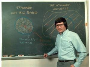 """The Big Bang theory says nothing about what banged, why it banged, or what happened before it banged,"" says MIT physicist Alan Guth, pictured in younger days."