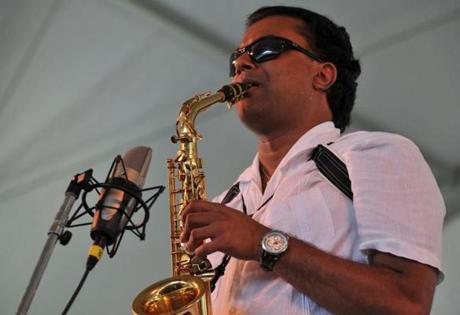 Saxophonists Rud-resh Mahanthappa will perform at the festival this year.