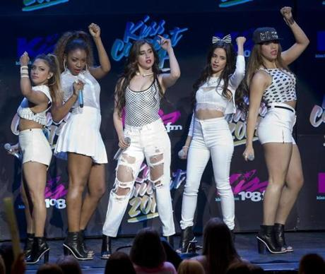 Kiss concert draws big names fans photo 31 of 49 pictures the norton ma 5312014 fifth harmony cq performing during the m4hsunfo
