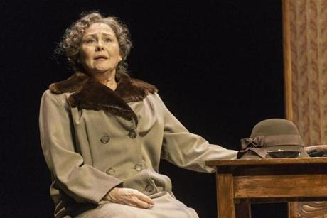 "Cherry Jones in ""The Glass Menagerie"" at the American Repertory Theater."