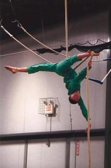 Douglas Stewart of Walpole will spend the summer touring with Circus Smirkus.