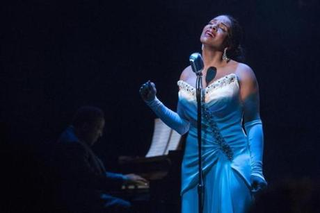 "Audra McDonald performs as Billie Holiday in ""Lady Day at Emerson's Bar & Grill."""