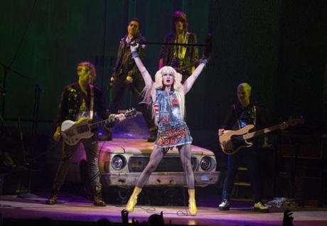 "Neil Patrick Harris in a scene from ""Hedwig and the Angry Inch."""
