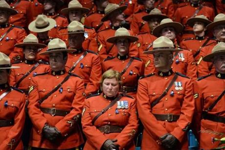 Mounties mourned (Photo 5 of 17) - Pictures - The Boston Globe